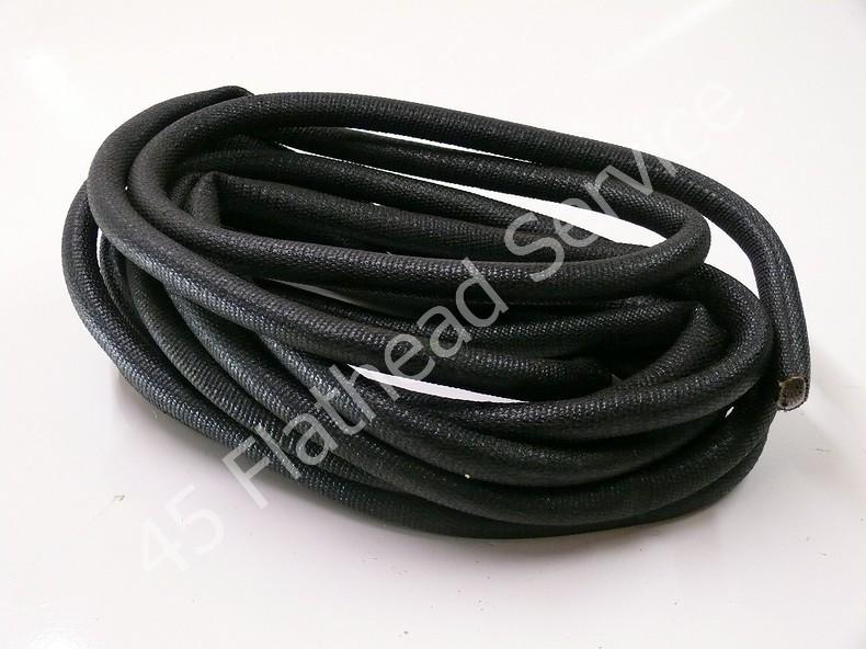"1/2"" asphalt wire loom, 1 metre - 45 Flathead Service"