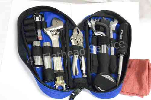 Tool kit for in teardrop toolbox, all models
