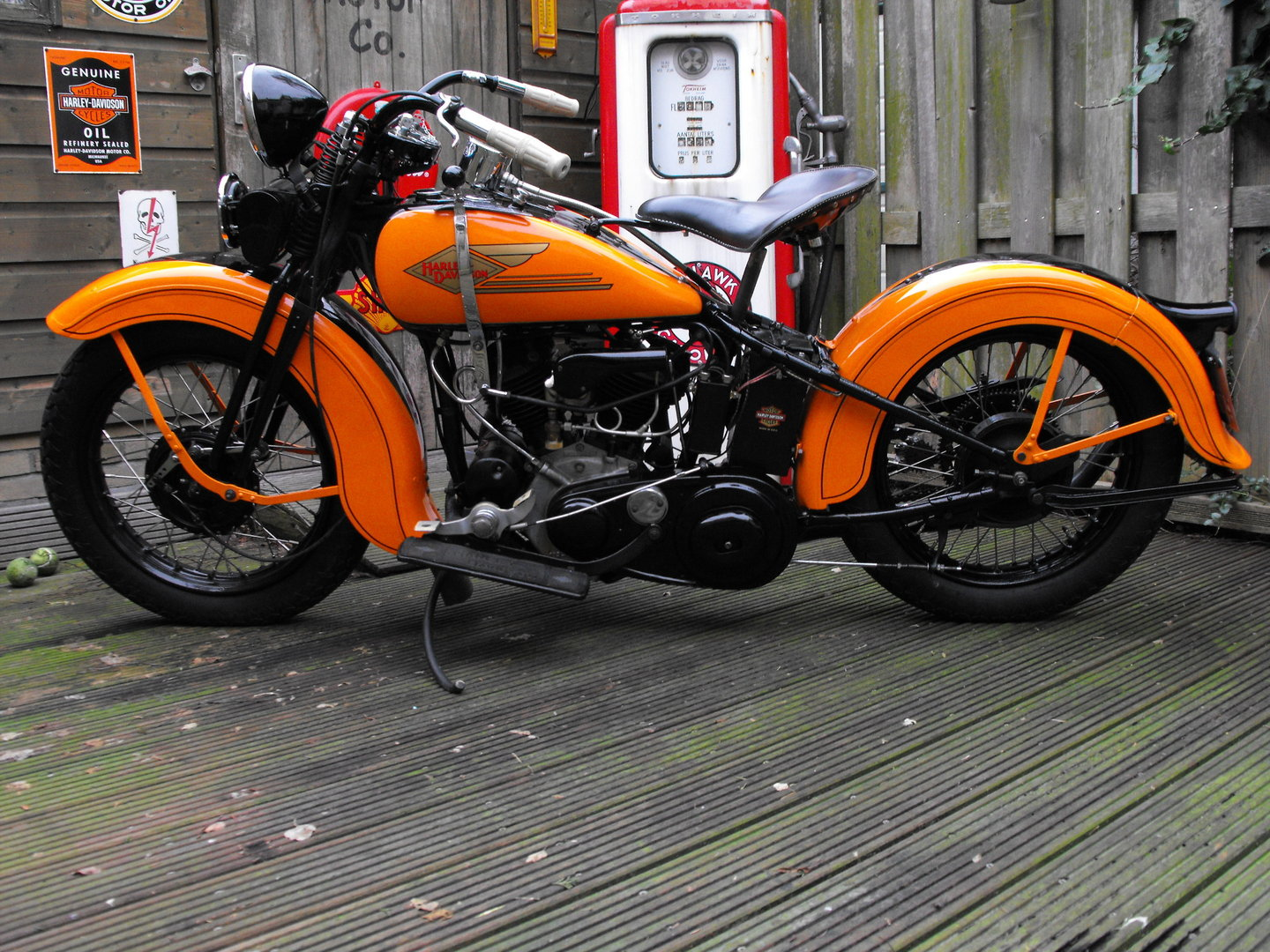Harley Motorcycles For Sale Ca >> 1934 Harley R Model - 45 Flathead Service