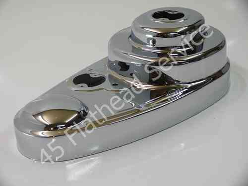 chain guard, outer, primary, WL, chrome made in USA